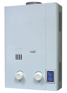 LED表示(S64)が付いているエリートのガスの給湯装置
