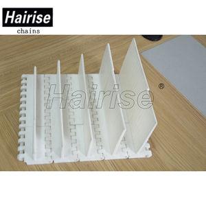 Hairise taquets en plastique du déflecteur de convoyeur à courroie modulaire pour le transport