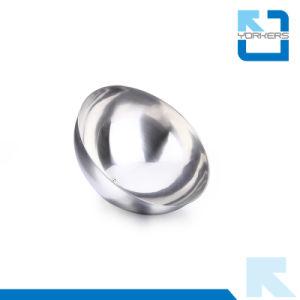 Nouveau style de couvercle dôme en acier inoxydable alimentaire & Forme ronde couvercle plat