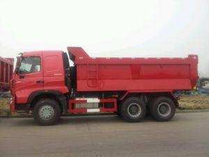 HOWO A7 6X4 Dumper com a Volvo Truck Caixa de Descarga
