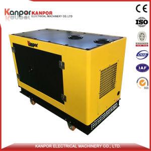 8kw vérin unique générateur diesel refroidi par eau avec un nouveau design