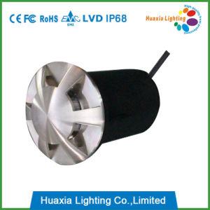 12Vステンレス鋼LEDの地下ライトをつける6方向