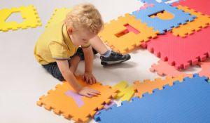 Puzzle de 26 letras EVA alfombrilla alfombrilla para el aprendizaje del bebé y el juego