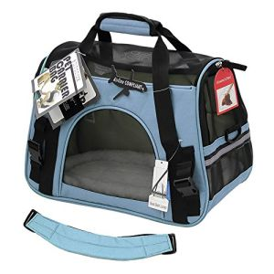 Gran portador Soft-Sided Pet Cat/ perro confort bolso de viaje para las mascotas de hasta 22 libras