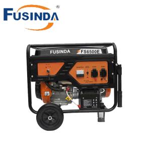 5kw/5kVA 220/380V elektrischer Benzin-Generator mit Cer, Fs6500e