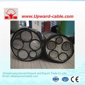 Il conduttore XLPE della lega di alluminio ha isolato i cavi elettrici inguainati PVC
