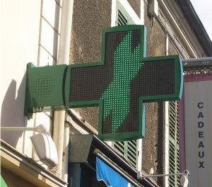 3D-LED аптека креста дисплей