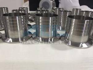 Adattatore premuto sanitario del tubo flessibile dell'acciaio inossidabile mini (ACE-JBG-DV)