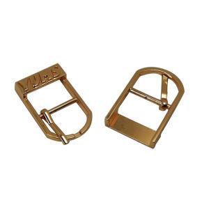 Inarcamento di fascia inciso marchio popolare di Pin dell'inarcamento di fascia del metallo di stile piccolo