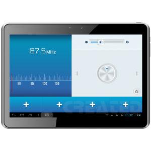 Nova chegada! 10,1polegadas Tablet PC Quad Core Andriod 4.2 Ecrã IPS Bluetooth/moto/GPS/WiFi/3G/câmara dupla