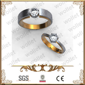 Art- und Weisepaare Tianium Diamant-Hochzeits-Ring