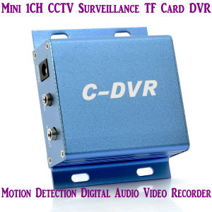 Mini1 des Kanal-C-DVR Digital TF Recorder Karten-der Überwachung-DVR mit Bewegungs-Abfragungs-Metall Shell (ACE-CVR01)