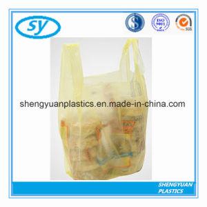 Le PEHD sacs de magasinage en plastique avec poignée gilet