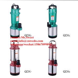Versenkbare Pumpe, Qdx Multi-Antreiber Wasser-Pumpe, 2.2kw/3HP