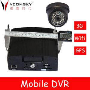 3G WiFi GPS HDD Bus DVR