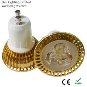 6W Dimmable GU10 MR16 E27 LED Spotlight