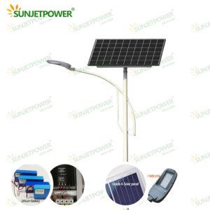 Cheap 50W Rue lumière LED solaire de gradation