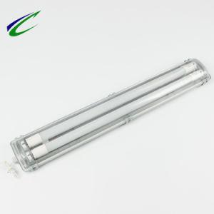 Светодиодный индикатор двойной трубы люминесцентных светильников светодиодная подсветка LED пластмассовую крышку лампы