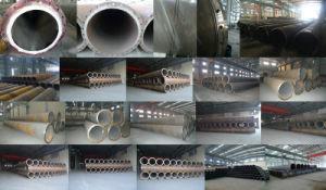 フランジの端が付いている大口径の螺線形によって溶接される管