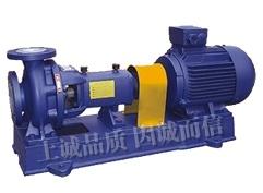 IHF 불소 플라스틱에 의하여 일렬로 세워지는 원심 펌프 시리즈