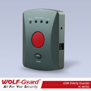 433/868MHz remoto GSM inalámbricas Home Sistema de seguridad con alarma de emergencia SOS Botón de pánico (YL007EG)