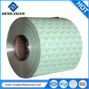 Bobine de feuille en aluminium à revêtement de couleur pour les toitures et système de revêtement