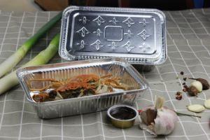 Высокое качество продуктов питания из алюминиевой фольги контейнер с несколькими пресс-формы полости