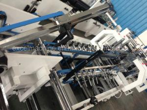 前ホールダーおよびクラッシュロックの底が付いているホールダーのGluer自動機械