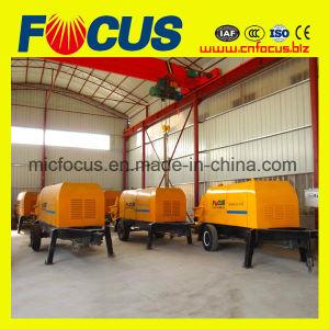 ISO en Ce Approvedconcrete die de Concrete Aanhangwagen van de Verkoop van de Concrete Pomp pompen