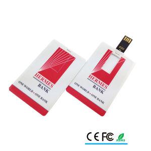Logotipo impreso USB Tarjeta de Crédito