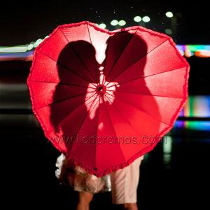 カスタム印刷の結婚式の結婚のギフトの中心の傘