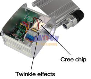 Новые RGBW LED Twinkle Star потолочного освещения комплект с радиочастотного пульта дистанционного управления с помощью оптоволоконного кабеля и кристаллов для помещений с потолком или автомобиле потолок
