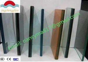 Aço inoxidável moderno Varanda Corrimão de vidro