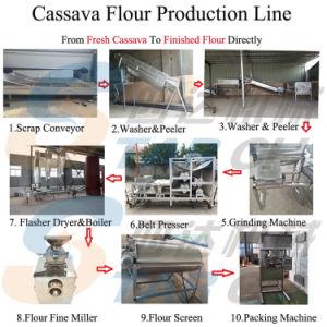 Завод по переработке Garri в полном объеме обработки из маниоки