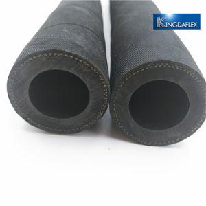 Arenado de abrasivos de alta de gran diámetro tubo flexible de caucho