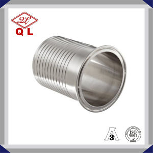 Connettore sanitario dell'accoppiamento del montaggio di tubo flessibile della fodera 3A-14mhr dell'acciaio inossidabile