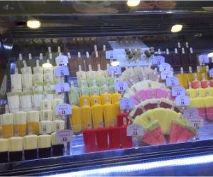 14traysのアイスクリームのカートの/Iceのクリーム色のショーケースかイタリアのアイスクリームのショーケース
