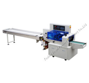 Vers le bas du film d'équipements de conditionnement de laminage de type horizontal Sevor Machines de conditionnement