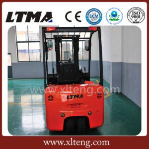 De Wisselstroom van Ltma 1.5 3-wielen van de Ton de Elektrische Vorkheftruck van de Batterij