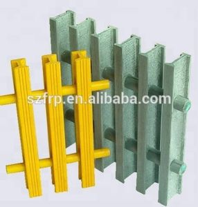 La fibra de vidrio pultrusión valla