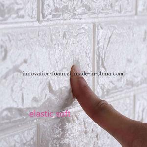 Étanche 3D PE mousse antiglisse mur de brique autocollant