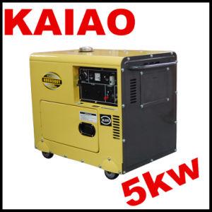 Menor preço 5000W 5Kw Gerador Silenciosa Diesel portátil 5kVA tipo silenciosa