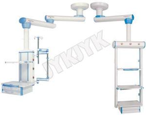 Equipamentos médicos do Hospital Medical Double-Arm Pendente de endoscópio