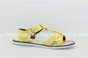 Présenter la plage de styles populaires plat Mesdames sandale