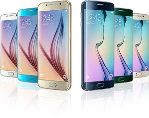 Originales para S6 G920 S6 Borde G925 El teléfono móvil Octa Core 3GB de RAM 32 GB de ROM LTE 16MP 5.1 desbloqueado teléfono celular
