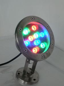 Stainess caldo Steel LED Underwater Light per Outdoor Pool Lighting