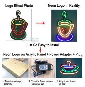 LED Neon Flex DC12V/24V Неон гибкий газа на 5 см Cuttable мини-Size Неоновые Вывески для входа можно настроить для изготовителей оборудования подписать