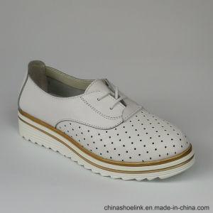 Populaire Lady's confortables chaussures en cuir