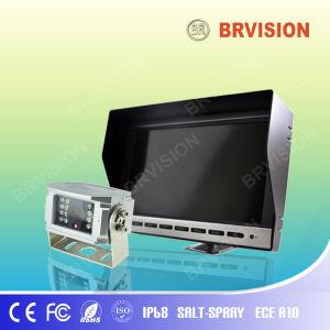 10 monitor con copia de seguridad del vehículo impermeable para cámara CCTV de camiones