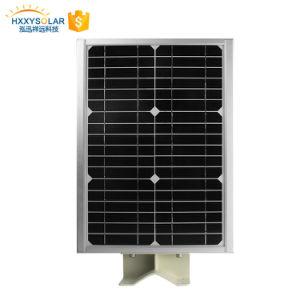 Mini Power LED recargable exterior de las luces de calle solar 5W